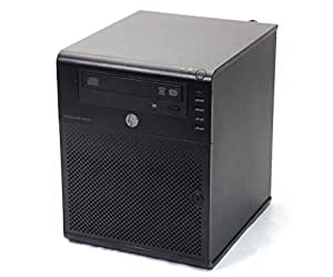 【中古】 hp ProLiant MicroServer Turion II Neo N54L 2.2GHz 4GB 1TBx2台(SATA3.5インチ/RAID1構成) DVD+-RW