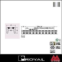 e-kanamono ロイヤル 棚柱 チャンネルサポート(ダブル) AWF-5 1500mm クローム