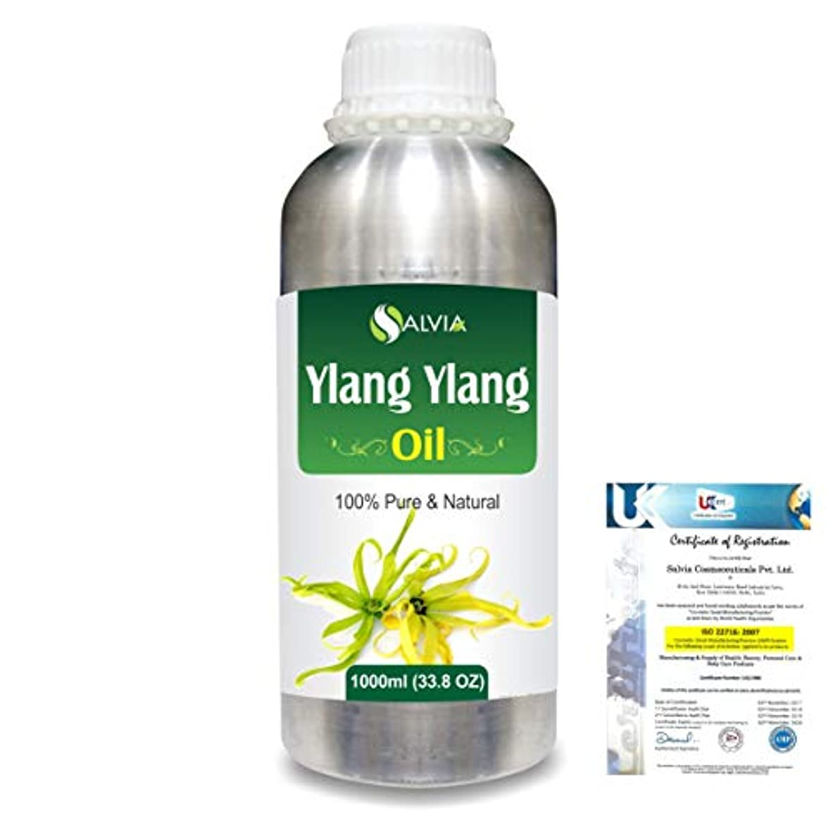 評議会遠近法動くYlang Ylang (Cananga Odorata) 100% Natural Pure Essential Oil 1000ml/33.8fl.oz.