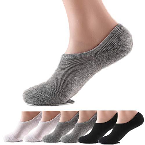 靴下 ショートソックス スニーカーイン靴下6足組 くるぶしソックス [抗菌防臭 ムレを防ぐ] 24~28cm 男女兼用