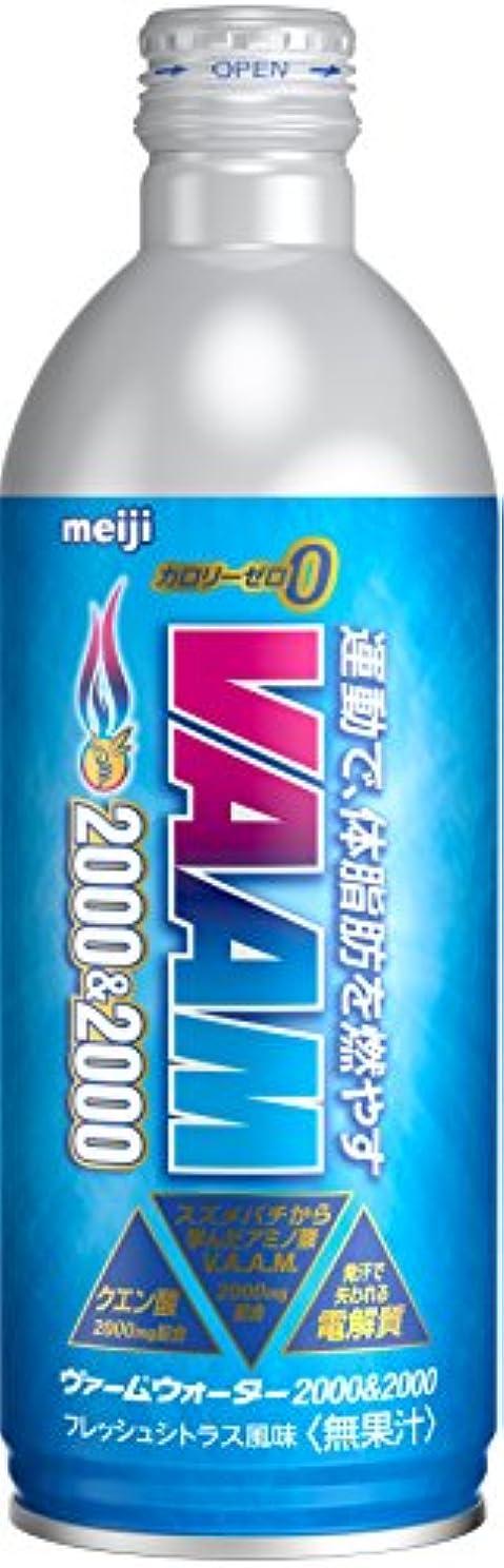【ケース販売】明治 ヴァームウォーター2000&2000 フレッシュシトラス味 500ml×24本