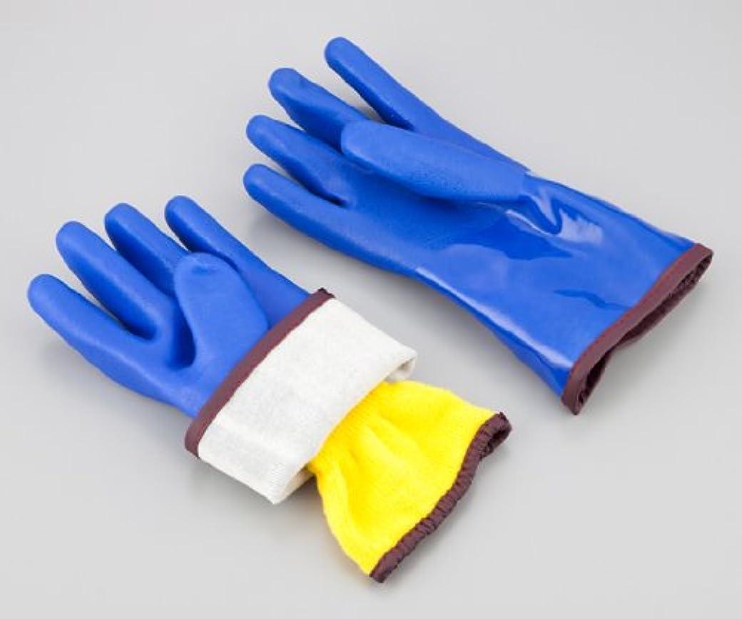 に付ける運動する脈拍アズワン1-536-02アズセーフ防寒手袋9581XL