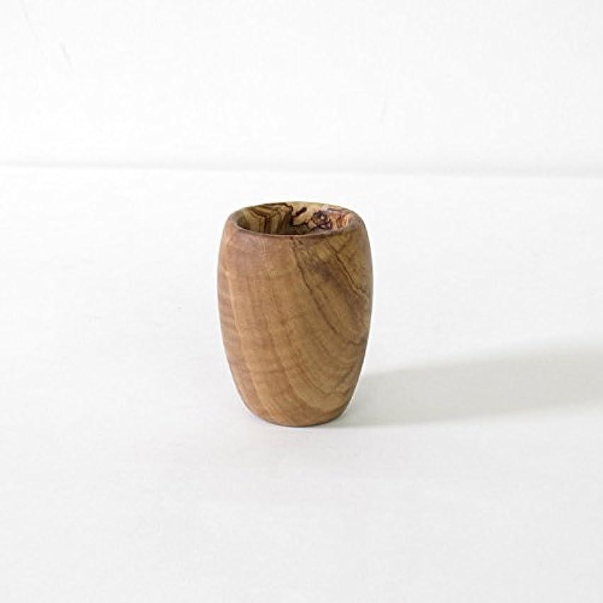 将来の集中残酷な松野屋(マツノヤ) オリーブ木コップ 20-1292