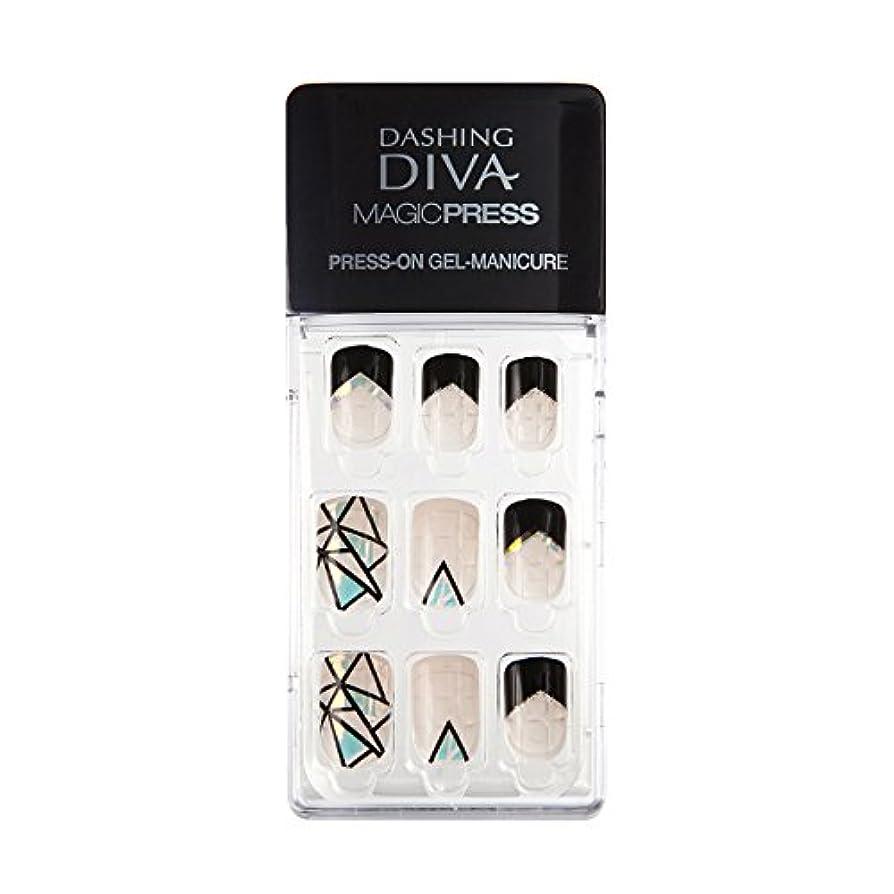 ディレイ試す転送ダッシングディバ マジックプレス DASHING DIVA MagicPress MIPA80-DURY+ オリジナルジェル ネイルチップ