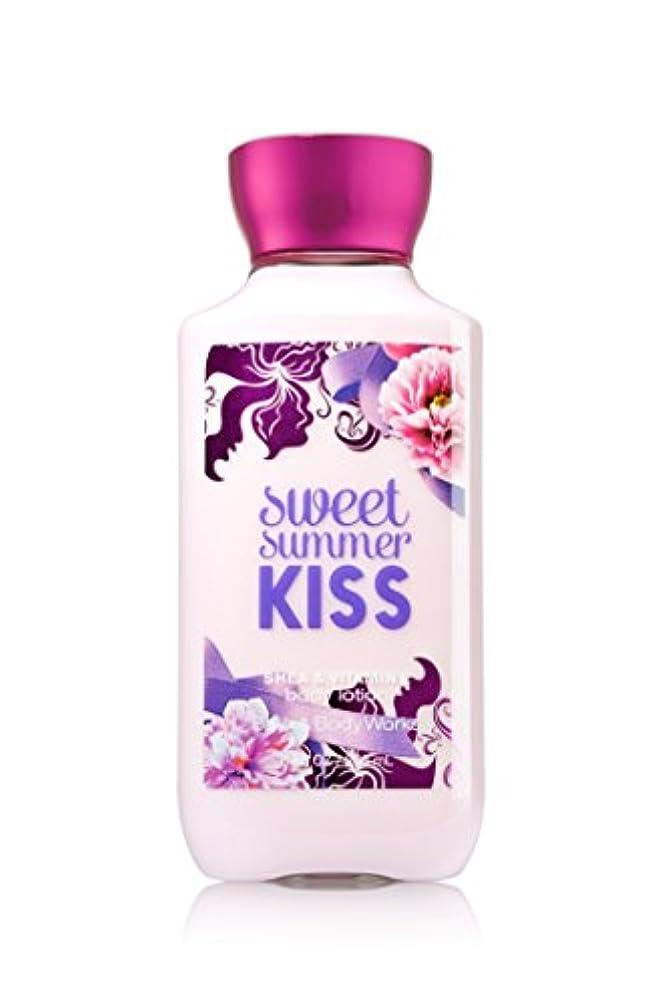 予防接種戸惑う酸化するBath Body Works Sweet summer KISS Body lotion 236g 並行輸入品