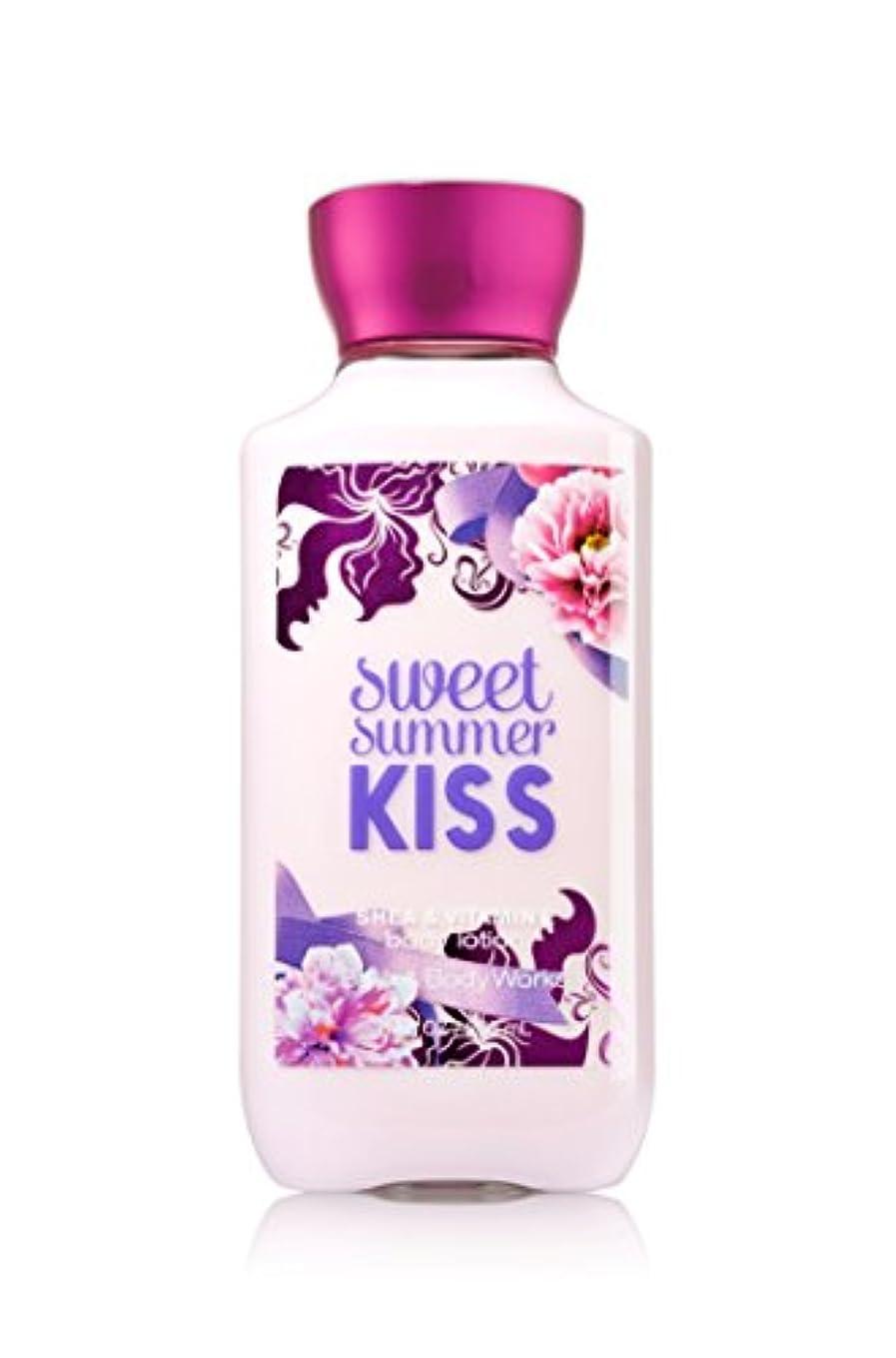 ばかげているそのような海峡Bath Body Works Sweet summer KISS Body lotion 236g 並行輸入品
