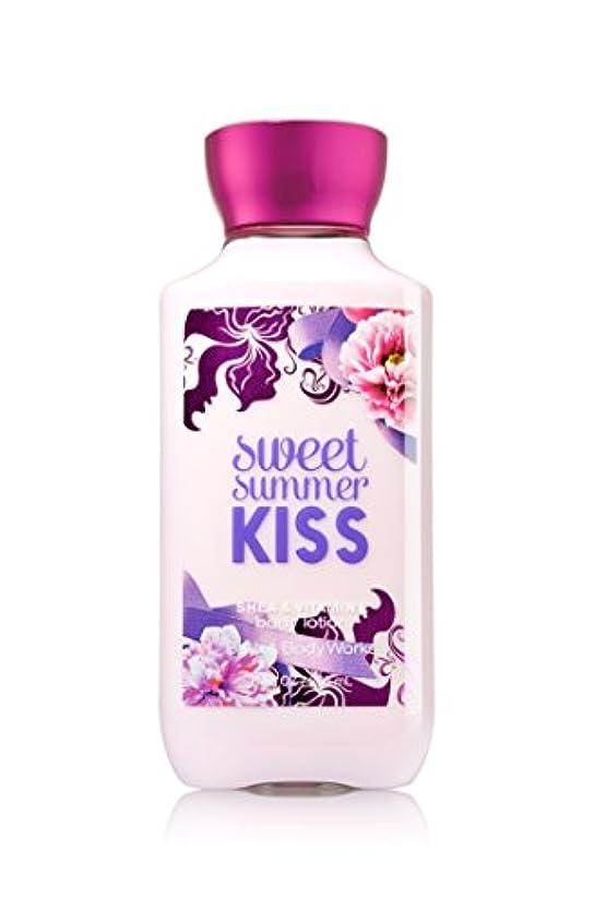 夜明け雪だるま恐ろしいですBath Body Works Sweet summer KISS Body lotion 236g 並行輸入品