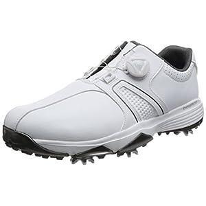[アディダスゴルフ] ゴルフシューズ スパイク 360 traxion Boa WD 360 traxion Boa WD Q44727 ホワイト/ホワイト/シルバーメタリック 26.5 3E