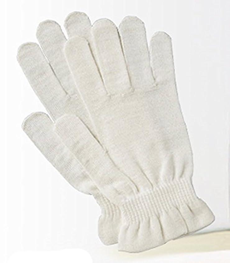 納屋リクルートマージ京都西陣の絹糸屋さんのシルク手袋
