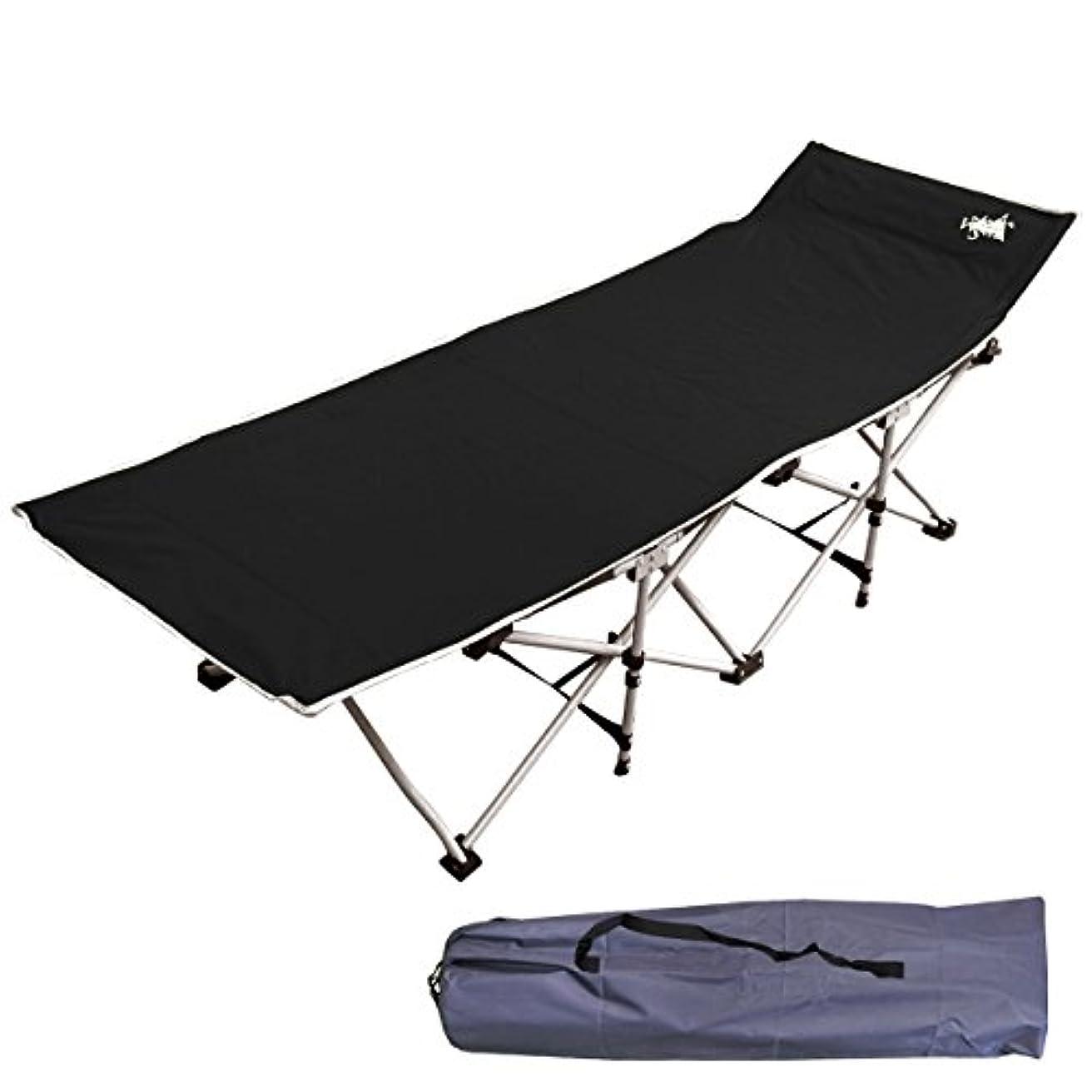 祭り鉄道リア王White Seek キャンピングコット 簡単折りたたみ式 キャンプベッド 折りたたみ式ベッド レジャーベッド 簡易ベッド
