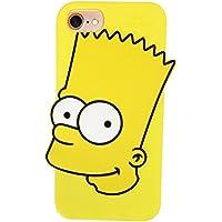 ザ?シンプソンズ シリコン iPhoneケース バート SSPC501