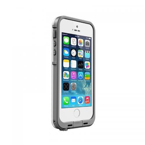 【日本正規代理店品・iPhone本体保証付】LIFEPROOF 防水防塵耐衝撃ケース fre iPhone5/5s/SE White/Gray 2115-02