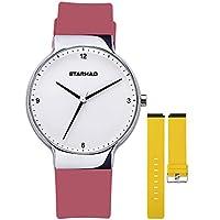PALADA Women's Quartz Analog Wrist Watch with 2 Pair of Soft Silicone Band