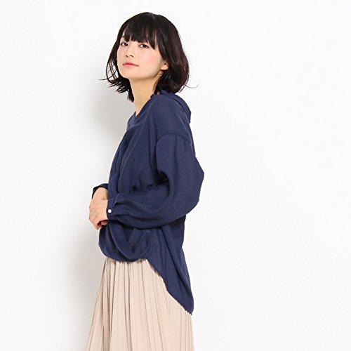 (ザ ショップ ティーケー) THE SHOP TK 【EASY CARE】カシュクールシャツ 04082006 99(FREE) ネイビー(093)