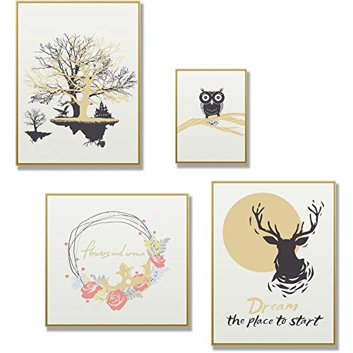 Wall Stickers Wall Art Stickers Wallpaper Self-Adhesive Bedroom Bed Wall Wall Decoration Photo Frame Stickers Living Room Wall Layout Wall Stickers Finished Product Size: 74 × 70Cm