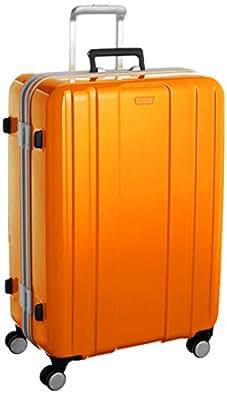 [サンコー] Tourist Club スーツケース ツーリストクラブ 軽量 大型 双輪キャスター 容量85L 縦サイズ68cm 重量5kg TC02-68 オレンジ