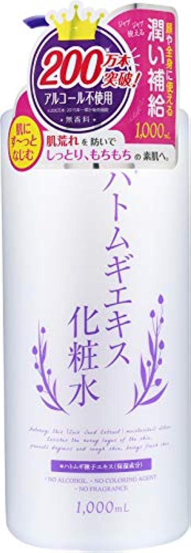 柱開いたあいまいさプラチナレーベル ハトムギ化粧水