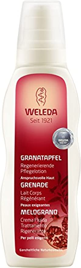 複合コンセンサス素朴なWELEDA(ヴェレダ) ざくろボディミルク 200ml