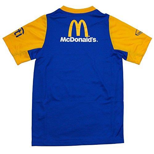 Grand Sport 2015 タイ代表 半袖トレーニングシャツ ロイヤルブルー (M)