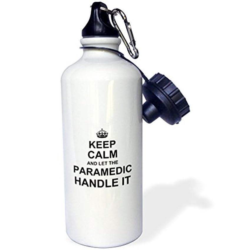 話麦芽ホップ3dローズInspirationzStore Keep Calmデザイン – Keep Calm and Let TheエンジニアハンドルIt – 楽しい面白いCareerジョブPride – 21 ozスポーツウォーターボトル( WB _ 233151 _ 1 )