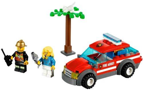レゴ シティ ファイヤーパトロールカー 60001