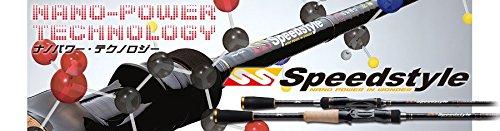 メジャークラフト バスロッド ベイト スピードスタイルベイト1ピース SSC-68MGC 釣り竿