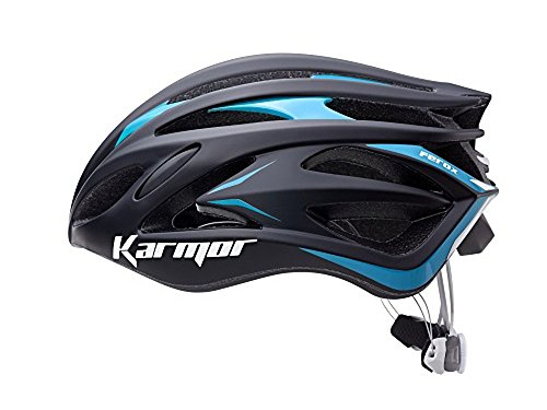 KARMOR(カーマー) FEROX2(フェロックス2)<ブラック/ブルー> ヘルメット Boa搭載