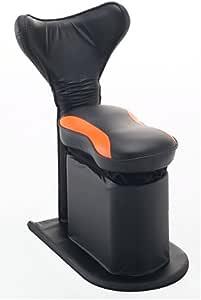 アテックス(ATEX) 馬ランスイングチェア スリム ブラック×オレンジ ATX-HC111or
