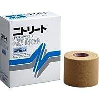 ニトリート(NITREAT) エラスティックテープ 粘着伸縮布包帯(厚手タイプ)50mm 6巻入 EB-50