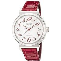 [ルキア]LUKIA 腕時計 メカニカル 自動巻(手巻つき) サファイアガラス 10気圧防水 SSVM015 レディース