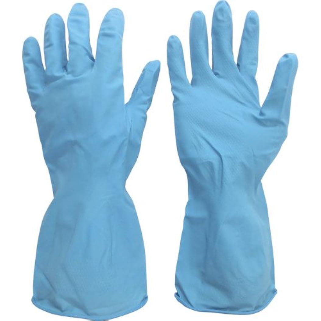 ナプキンチェス取り出すミドリ安全 ニトリル薄手手袋 ベルテ270 1双入 L VERTE-270-L