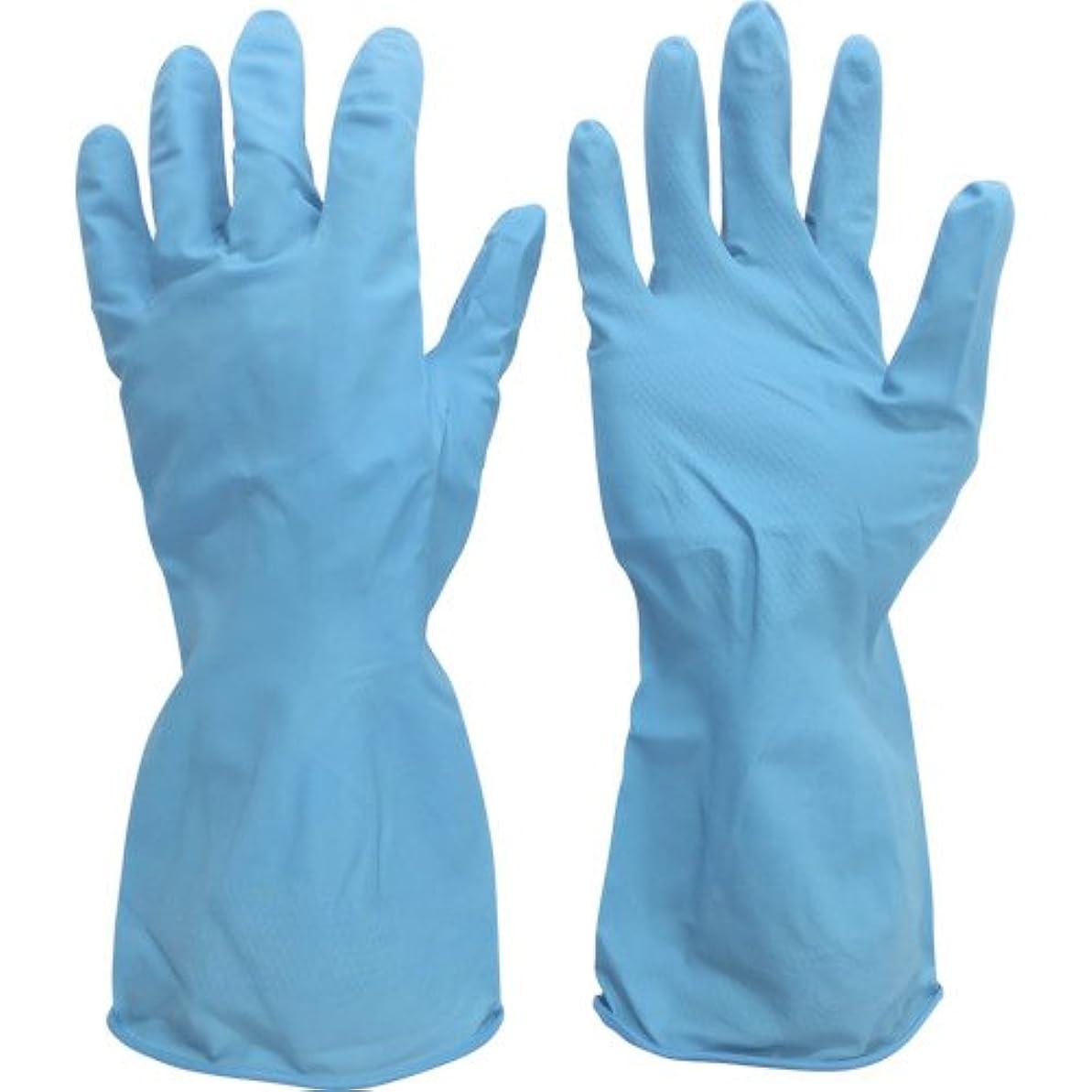 ピニオンテロ確保するミドリ安全 ニトリル薄手手袋 ベルテ270 1双入 L VERTE-270-L