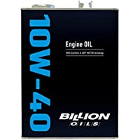 BILLION ビリオンOILS エンジンオイル 10W-40 4L BOIL-10W04