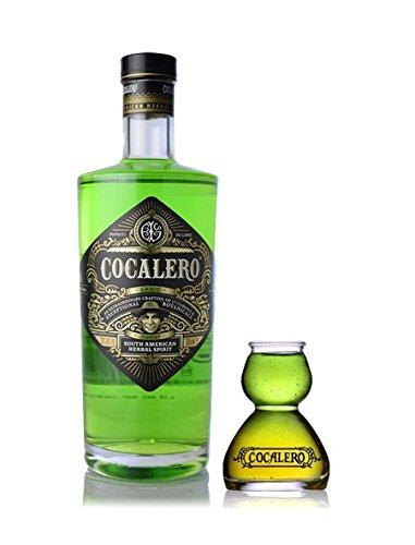 [特製ボムグラス付き] コカレロ COCALERO コカの葉のリキュール 29度 700ml