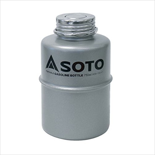 ソト(SOTO) ポータブルガソリンボトル750ml SOD-750-07