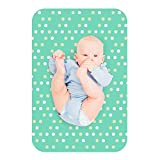Lessy Messy Washable Diaper Changing Mat 20X30 Baby Polka Dot