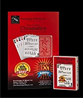 Chromatics Music Playing Cards (1 Deck) with How to Play Guide