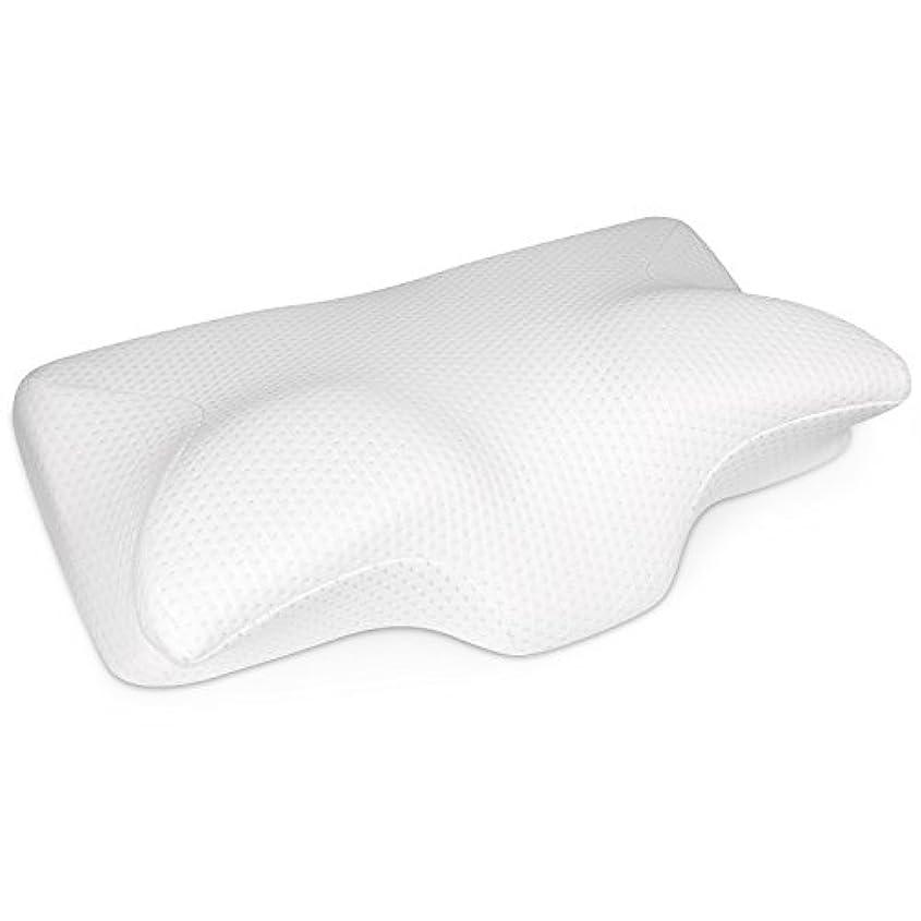 不安定狂うあさりSepoveda 低反発まくら ピロー マッサージ枕 首・頭・肩をやさしく支える健康枕 頸椎サポート いびき防止 肩こり対策 頭痛 改善 安眠 通気性抜群 洗える