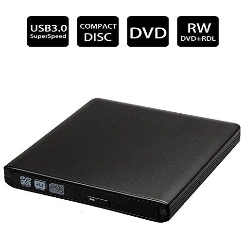 DVDドライブ CDドライブ USB3.0 外付け ポータブル Windows/Linux/Mac OS三種類対応 ドライブ