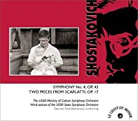 Shostakovich: Symphony No.4, Two Pieces from Scarlatti