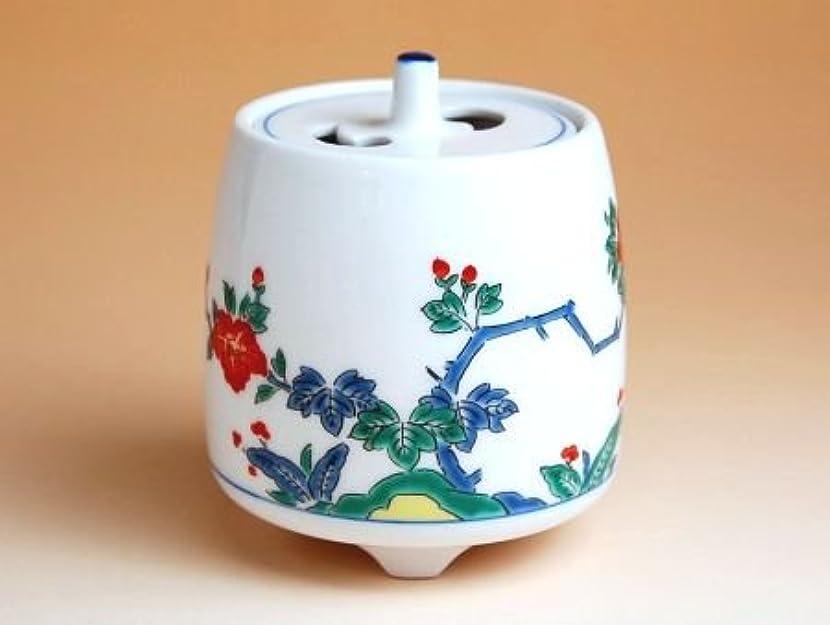 有田焼 牡丹 ミニ香炉(木箱付)【サイズ】高さ8cm