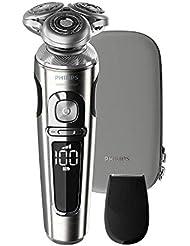 フィリップスS9000 プレステージ メンズ電気シェーバー72枚刃 回転式お風呂剃り&丸洗い可 SP9820/12