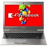 【中古】 ダイナブック dynabook R632/H PR632HAWX4BA71 / Core i5 3437U(1.9GHz) / HDD:128(SSD)GB / 13.3インチ / シルバー