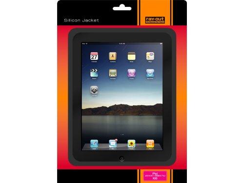 レイアウト iPad(2010年1月発表モデル)用シリコンジャケット/ブラック RT-PA1C1/B