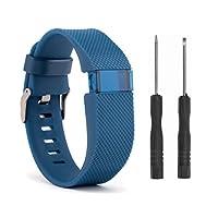VN-LUCKY 16CM-22CM 交換用リストバンド for Fitbit Charge HR ,プレミアムシリコンバンドゴム製ストラップリストバンドブレスレットfor Fitbit Charge HR