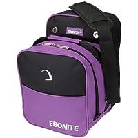 EboniteコンパクトSingle Bowling bag-パープル