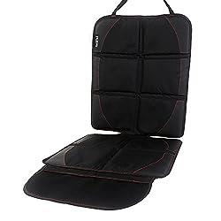 IntiPal チャイルドシートマット チャイルドシート カバー 車保護シート シートプロテクター 保護 マット