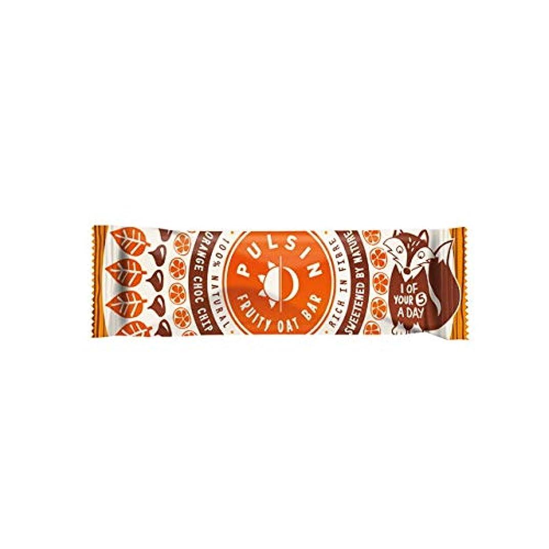 明るいの頭の上に賛成フルーティーオーツバー オレンジ チョコチップ 25g【24個セット】