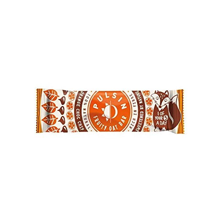 怪物エジプト人スラムフルーティーオーツバー オレンジ チョコチップ 25g【24個セット】