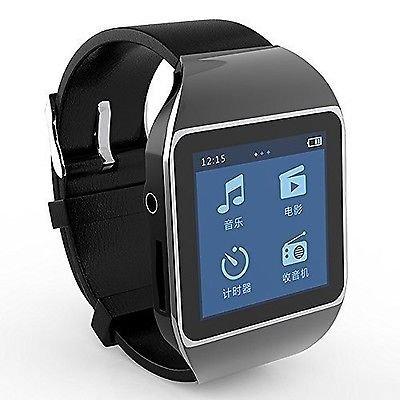 ボイスレコーダー MP3 プレーヤー 腕時計 型 動画 Bl...